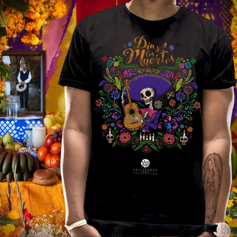 DIA DE LOS MUERTOS by Vernaci's Artist Shop