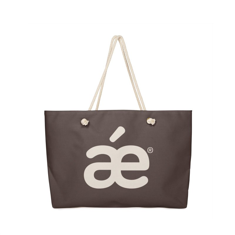 æ woody brown in Weekender Bag by æ___bags™