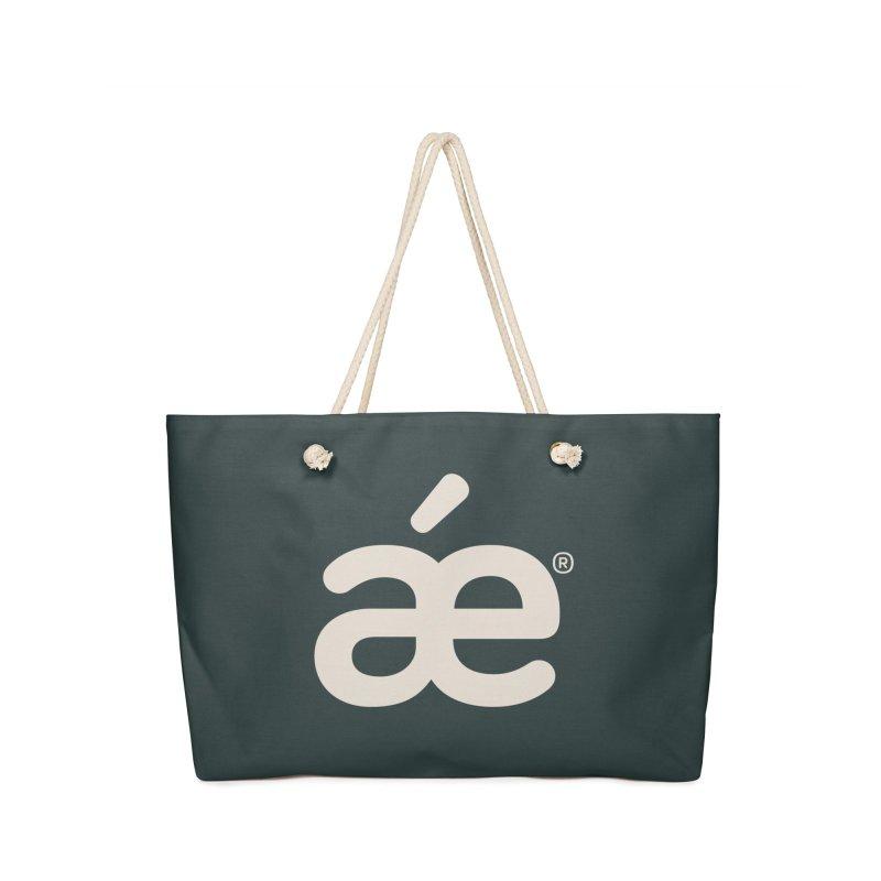 æ outer space in Weekender Bag by æ___bags™