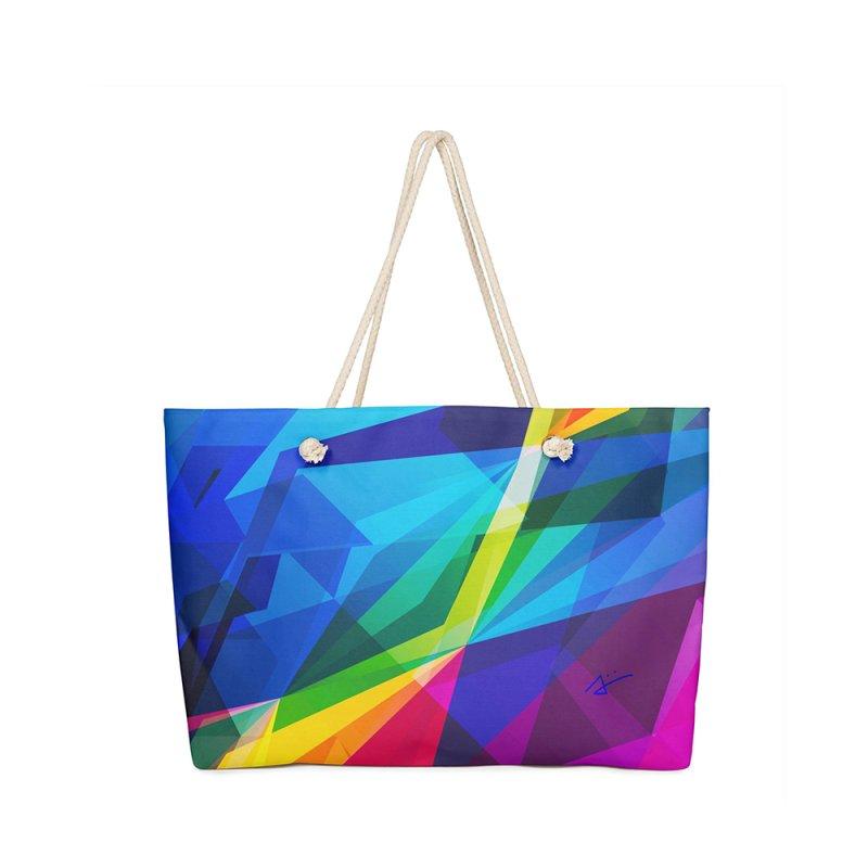 Prism in Weekender Bag by Art and Geometry