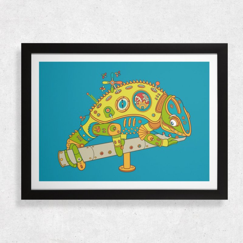 Chameleon by AlphaPod