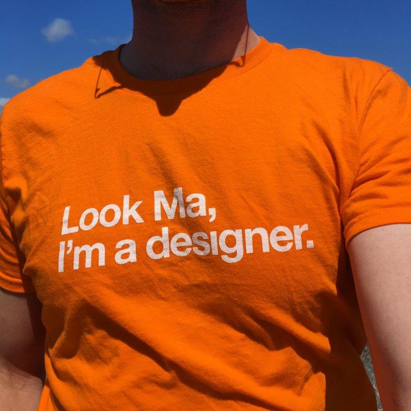 I'm a Designer in  by No Agenda by Andy Rado