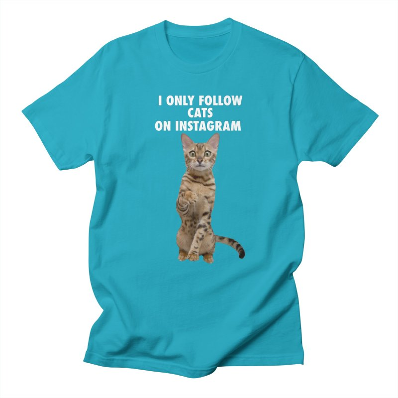I Follow Cats by Angel Bengal Merch