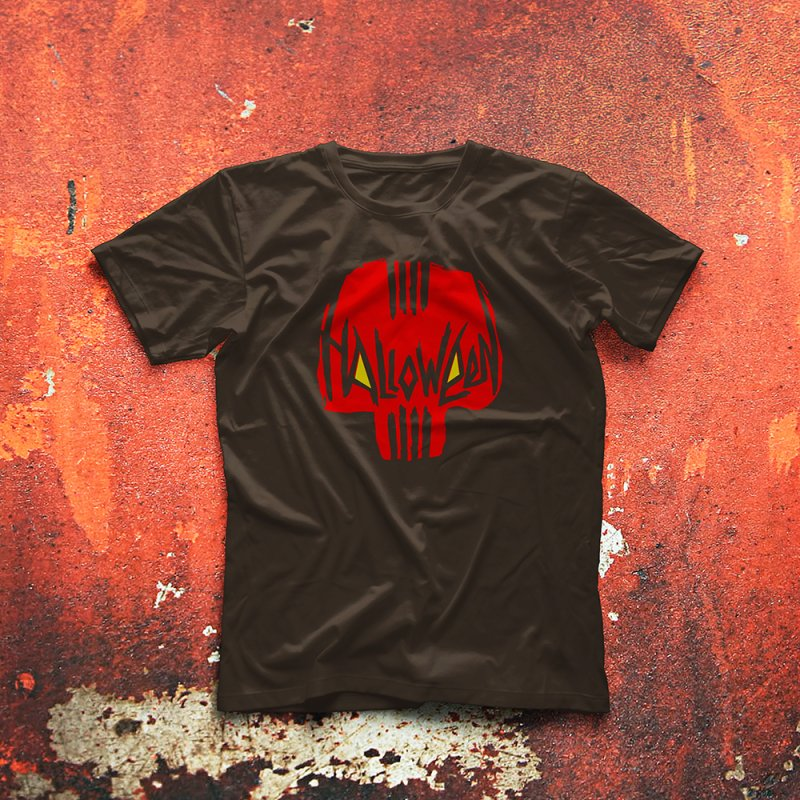 Red skull by artfanat.shop