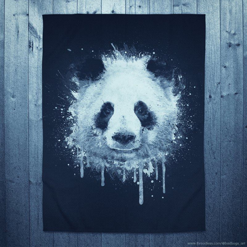 Watercolor Panda by Badbugs's Artist Shop