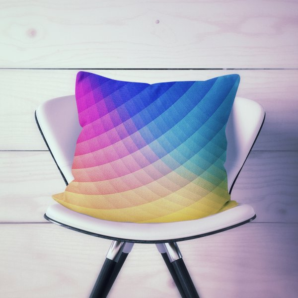 Design for Spectrum Bomb! Fruity Fresh (HDR Rainbow Colorful Experimental Pattern) 180
