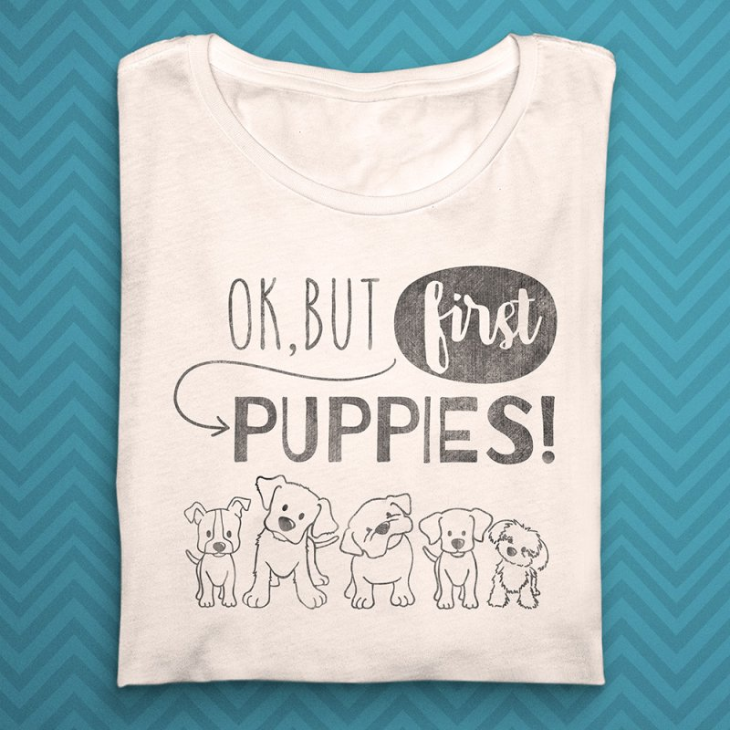 But First Puppies in  by Nisa Fiin's Artist Shop