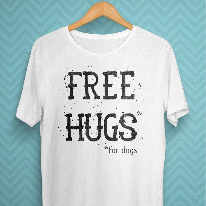 Free Hugs for dogs by Nisa Fiin's Artist Shop