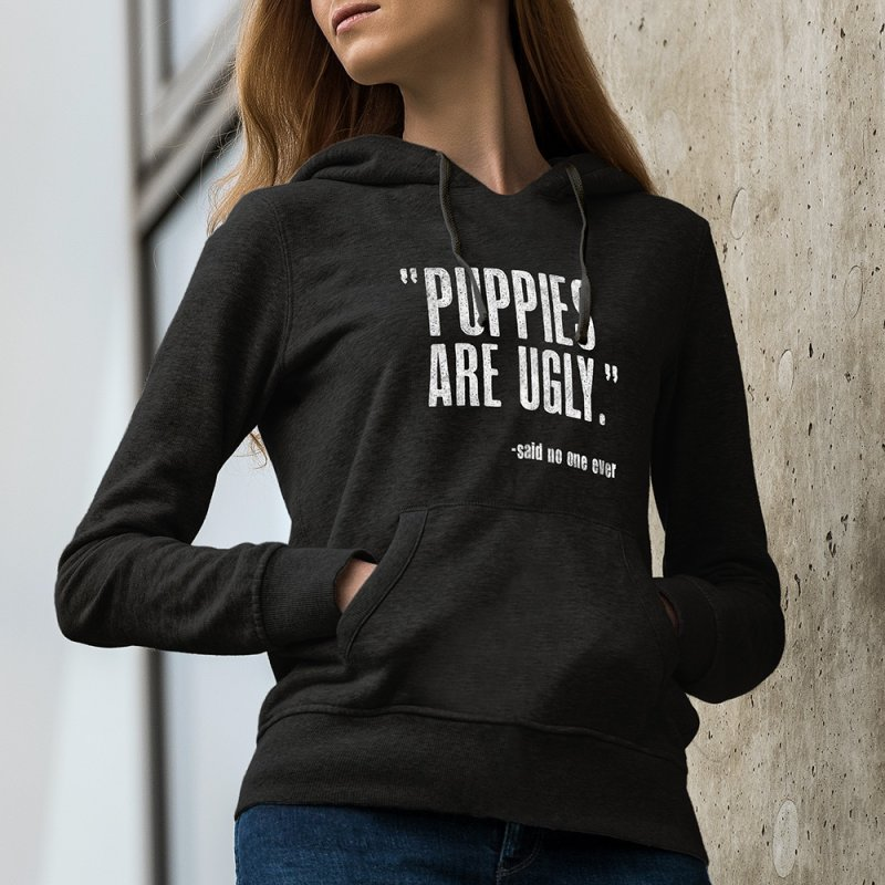 Puppies are Ugly by Nisa Fiin's Artist Shop