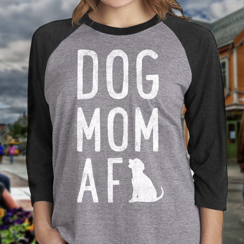 Dog Mom AF by Nisa Fiin's Artist Shop
