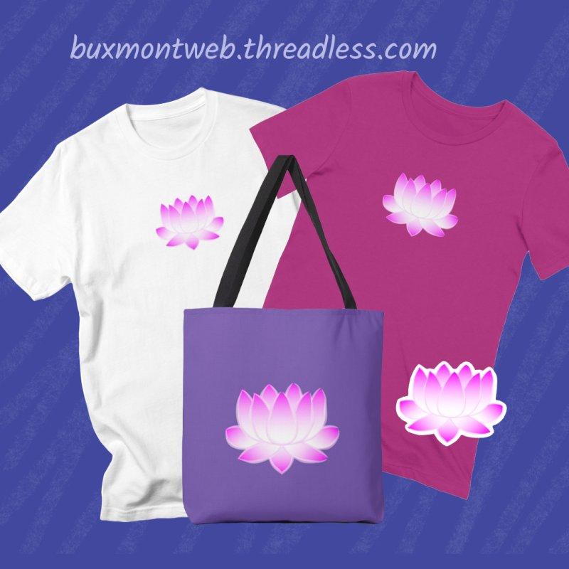 Pink Lotus Flower by buxmontweb's Artist Shop