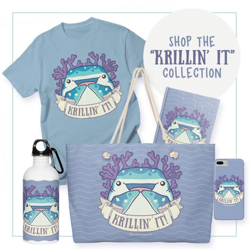 Krillin' It! (Whale Shark) by Byte Size Treasure's Shop