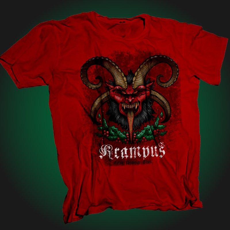 Krampus by Celtic Hammer Club Apparel