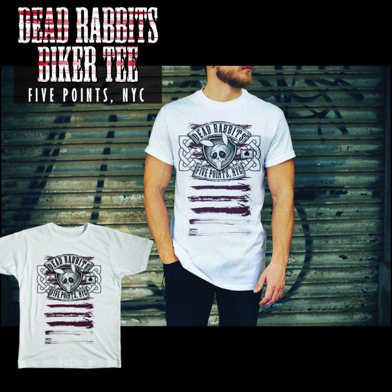 Dead Rabbits Vintage Biker by Celtic Hammer Club Apparel