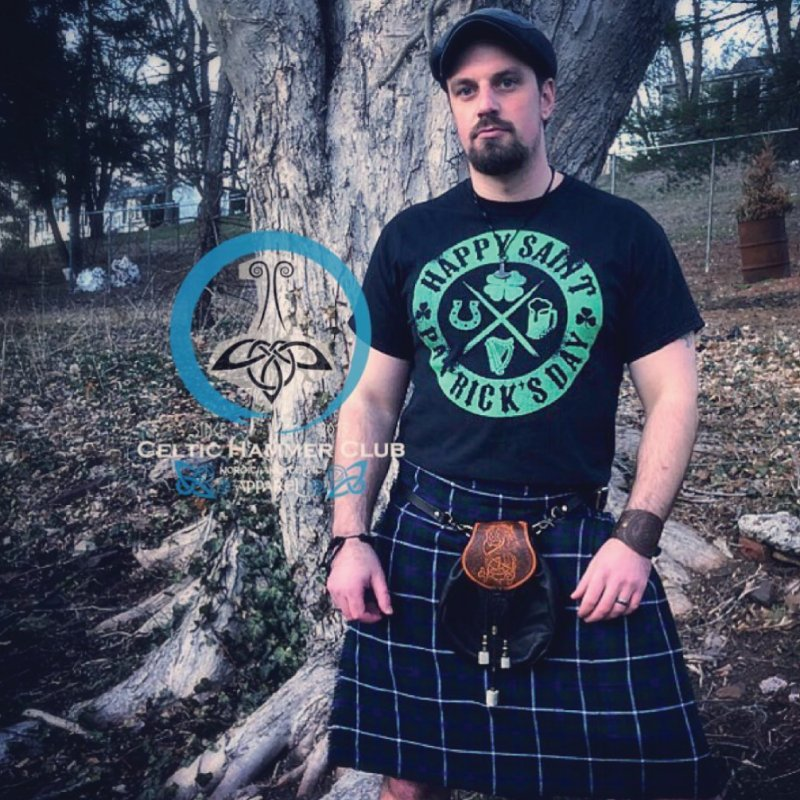 St. Patrick's Day Badge Logo by Celtic Hammer Club Apparel