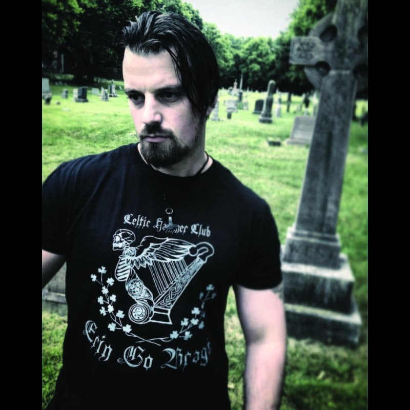 """Angel of Death"" Celtic Harp by Celtic Hammer Club Apparel"