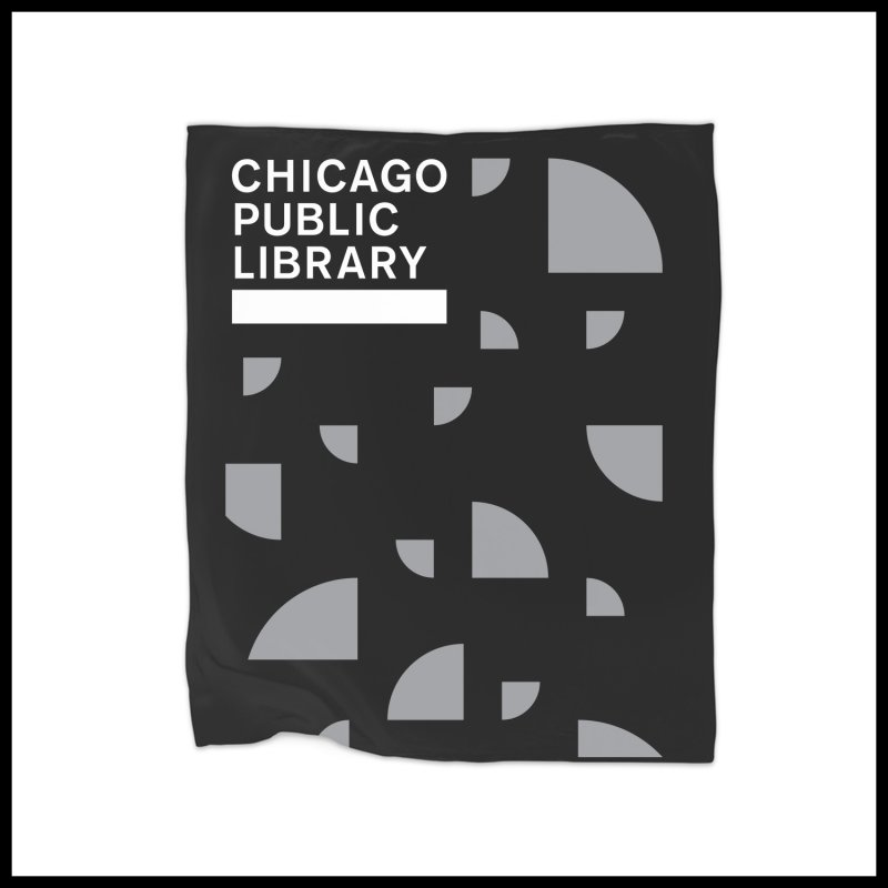 CPL Open Book Motif by Chicago Public Library Artist Shop