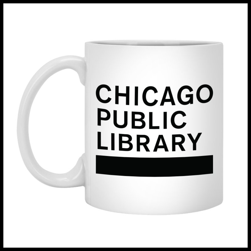 CPL Master Brand Logo by Chicago Public Library Artist Shop