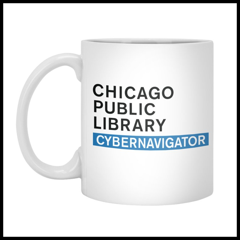 CPL Signature Program Cybernavigator by Chicago Public Library Artist Shop