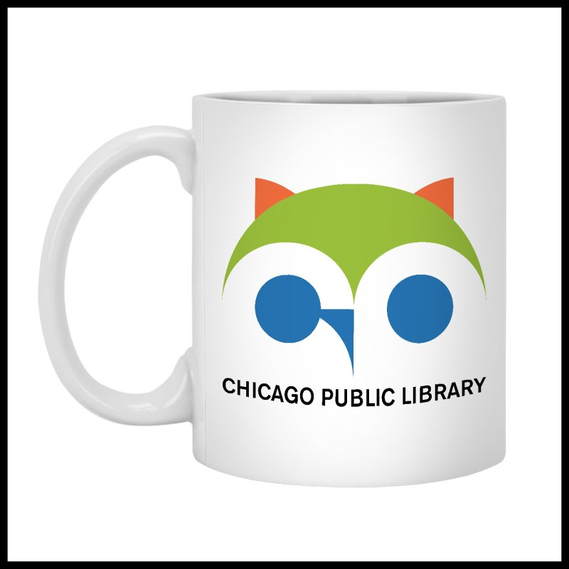 CPL Owl by Chicago Public Library Artist Shop