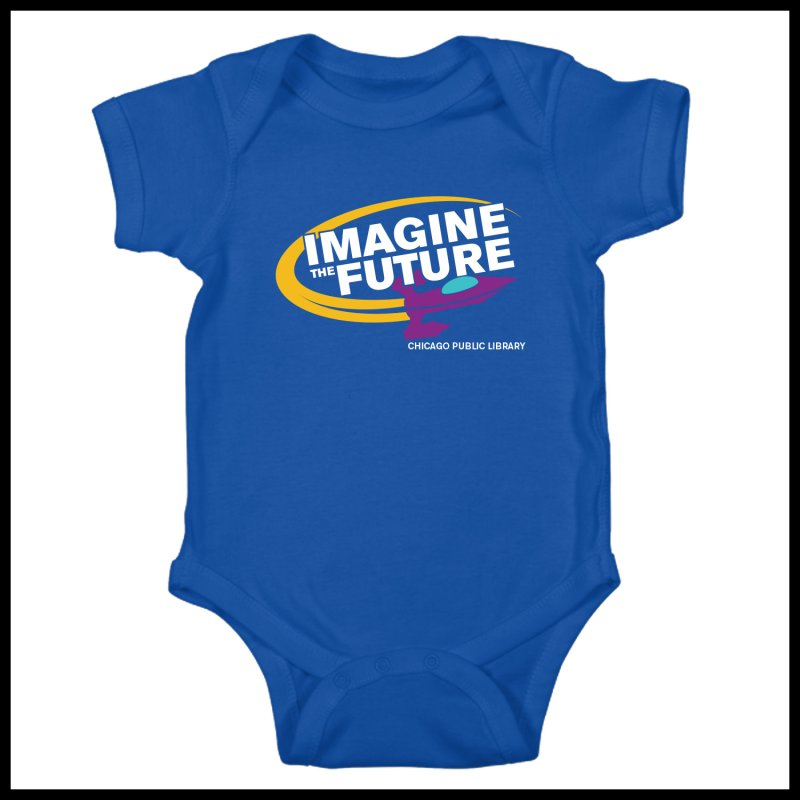 One Chicago 2018 Imagine the Future Rocket in  by Chicago Public Library Artist Shop