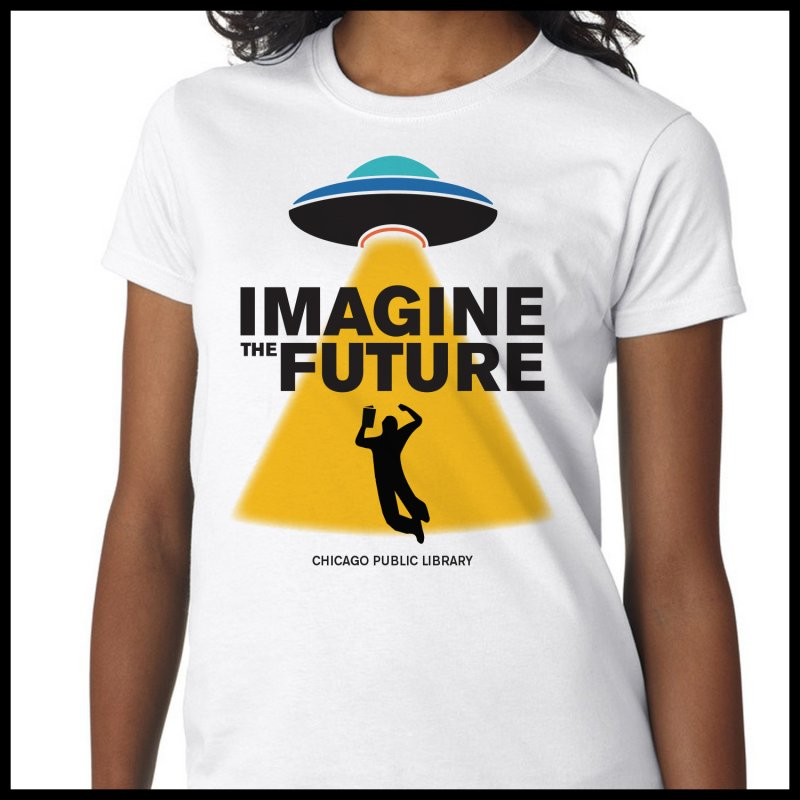 One Chicago 2018 Imagine the Future Saucer in  by Chicago Public Library Artist Shop