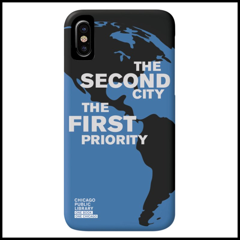 One Chicago 2019 Second City White in  by Chicago Public Library Artist Shop