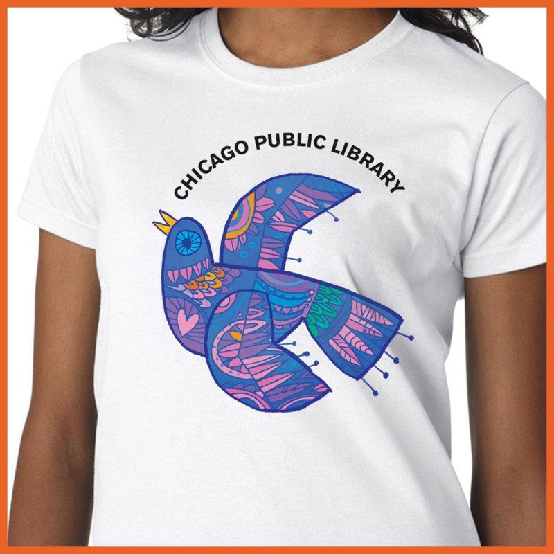 Summer 2019 Bird by Chicago Public Library Artist Shop