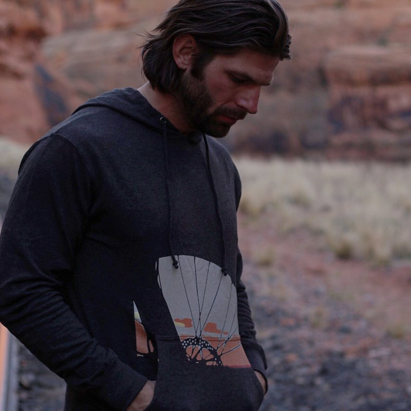 MTB Sunset  by CRANK. outdoors + music lifestyle clothing