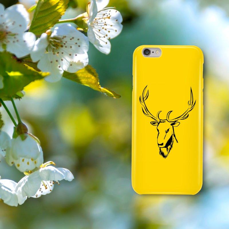 Deer Fury in iPhone 6 / 6S Phone Case Slim by Synner Design