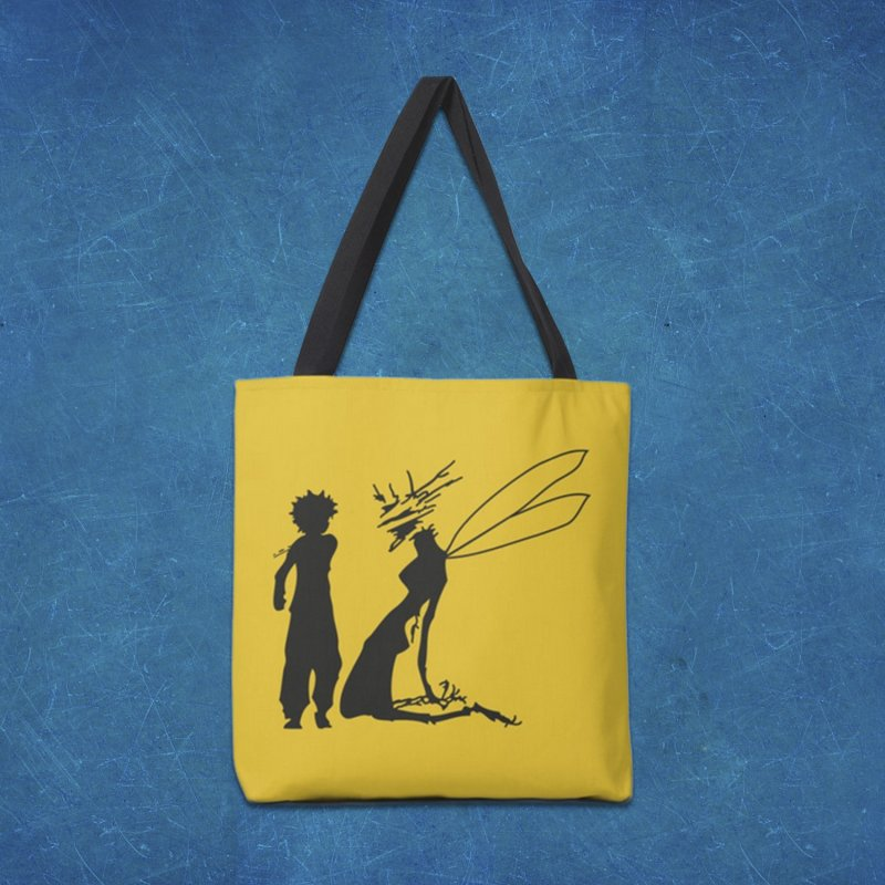 Killua kills in Tote Bag by Synner Design