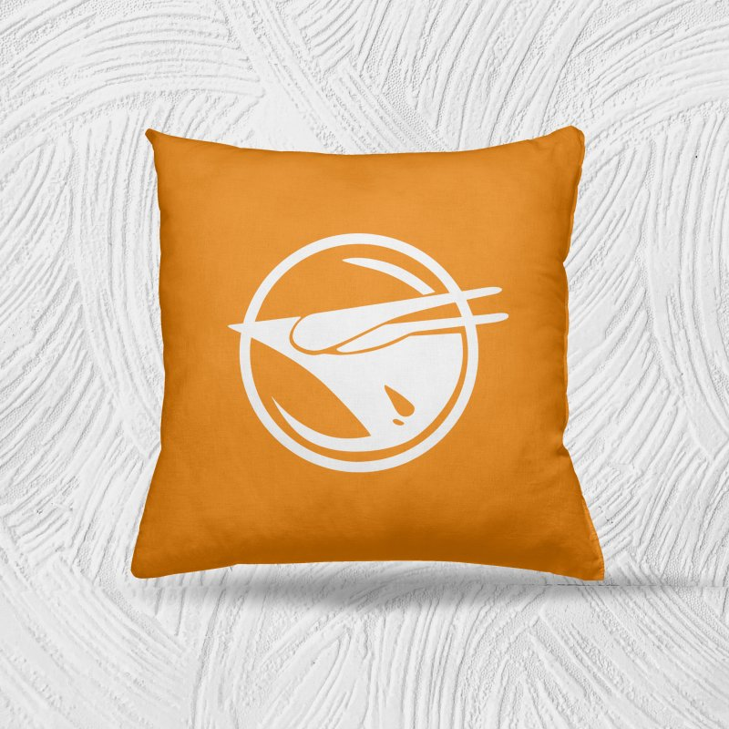 Rebel Phoenix in Throw Pillow by Synner Design