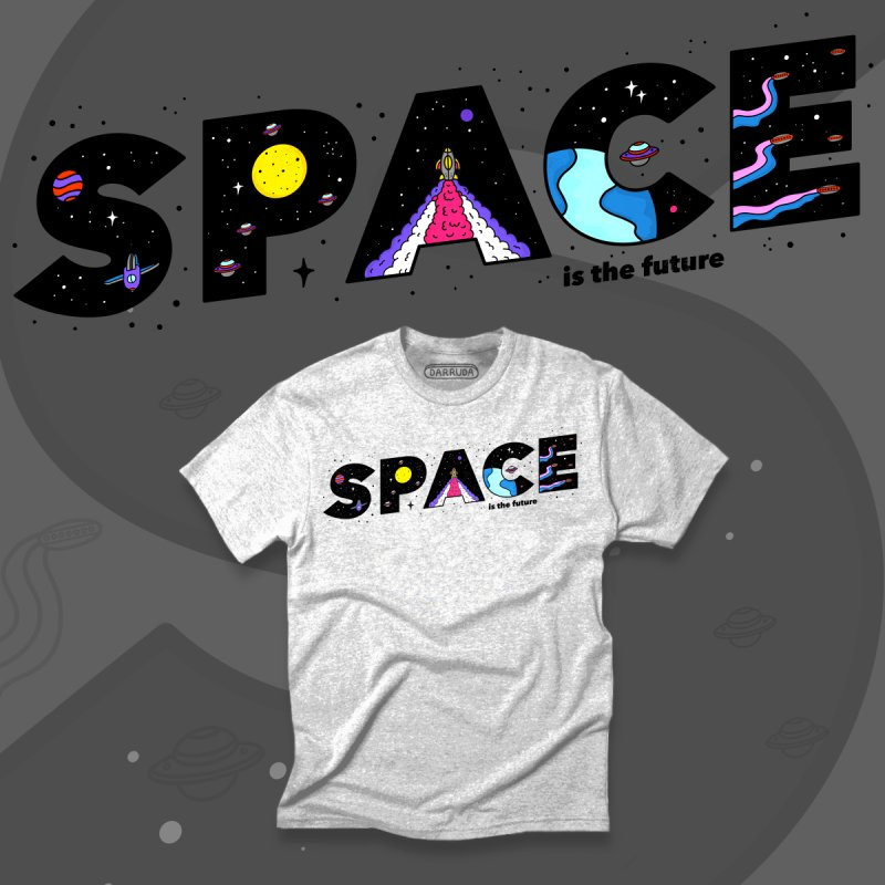 Space is the Future by darruda's Artist Shop