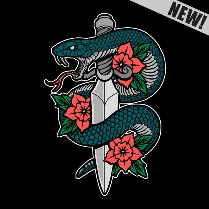 Snake & Dagger II by Deniart's Artist Shop