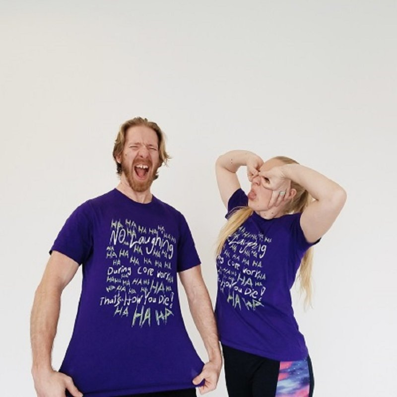 No Laughing During Core Work by Everyday Superhero Training Gear