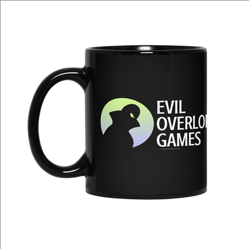 Evil Overlord logo - light in Standard Mug White by Evil Overlord Games - The Shop!