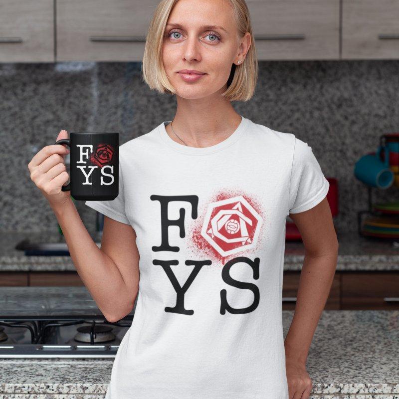 FOYS (WHITE) in Men's Regular T-Shirt White by Fees Tees