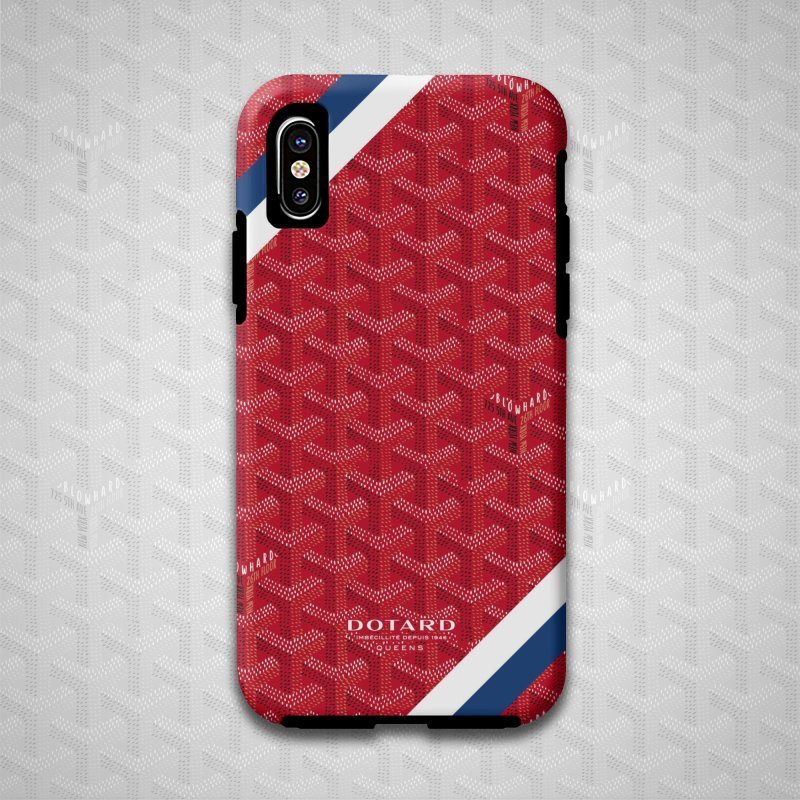 DOTARD. (Rouge) in iPhone X Phone Case Tough by FWMJ's Shop
