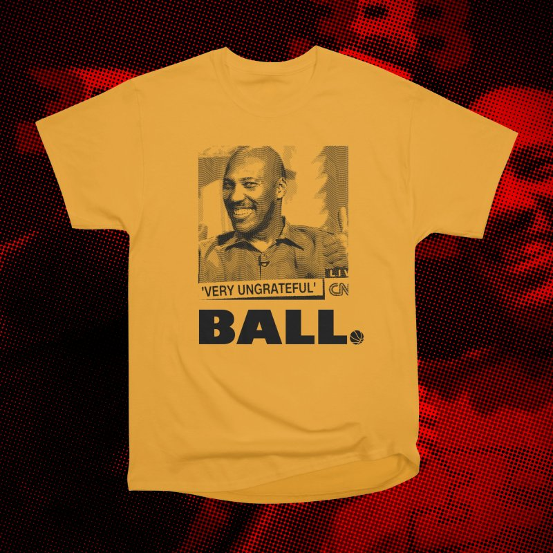 Lavar The Troll God in Men's Classic T-Shirt Orange Poppy by FWMJ's Shop
