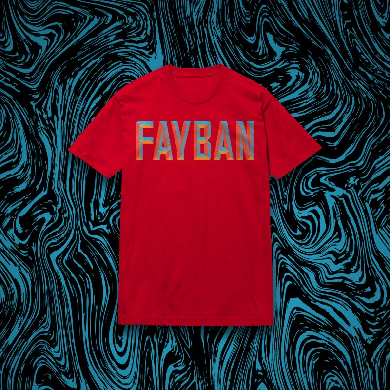 FAYBAN in Men's Classic T-Shirt Red by FWMJ's Shop