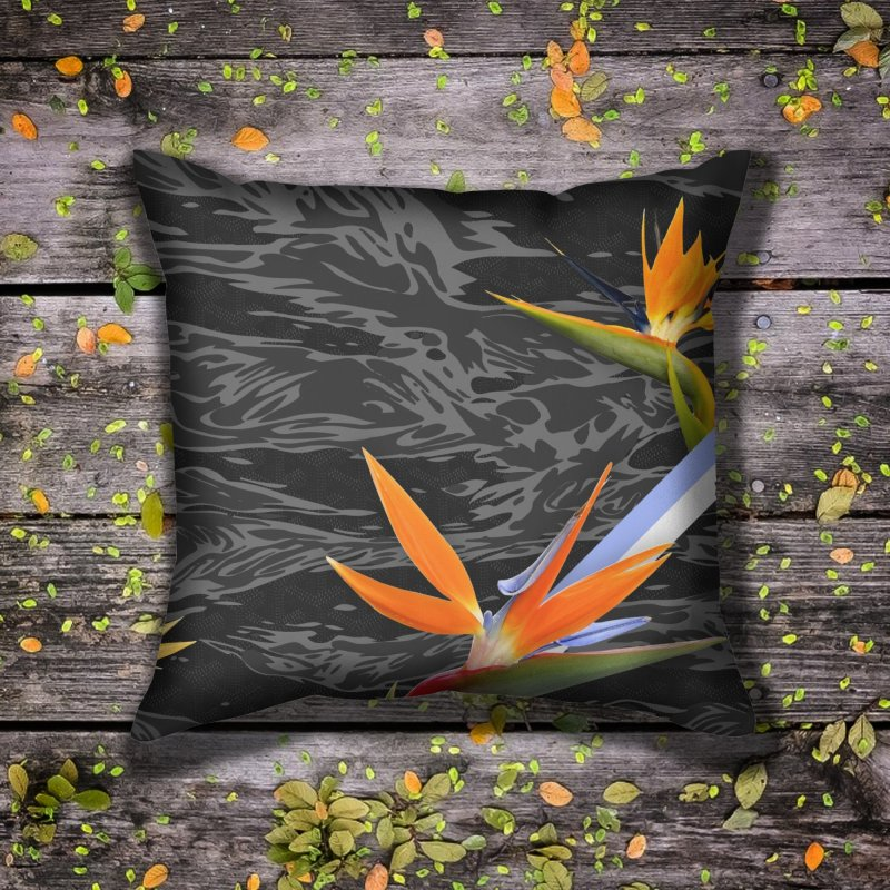 Tigers & Paradise (Shadow) in Throw Pillow by FWMJ's Shop