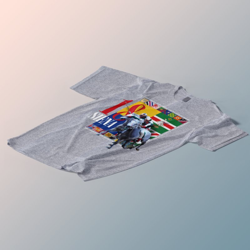 Palio di Siena № 1 in Men's Regular T-Shirt Lemon by FWMJ's Shop