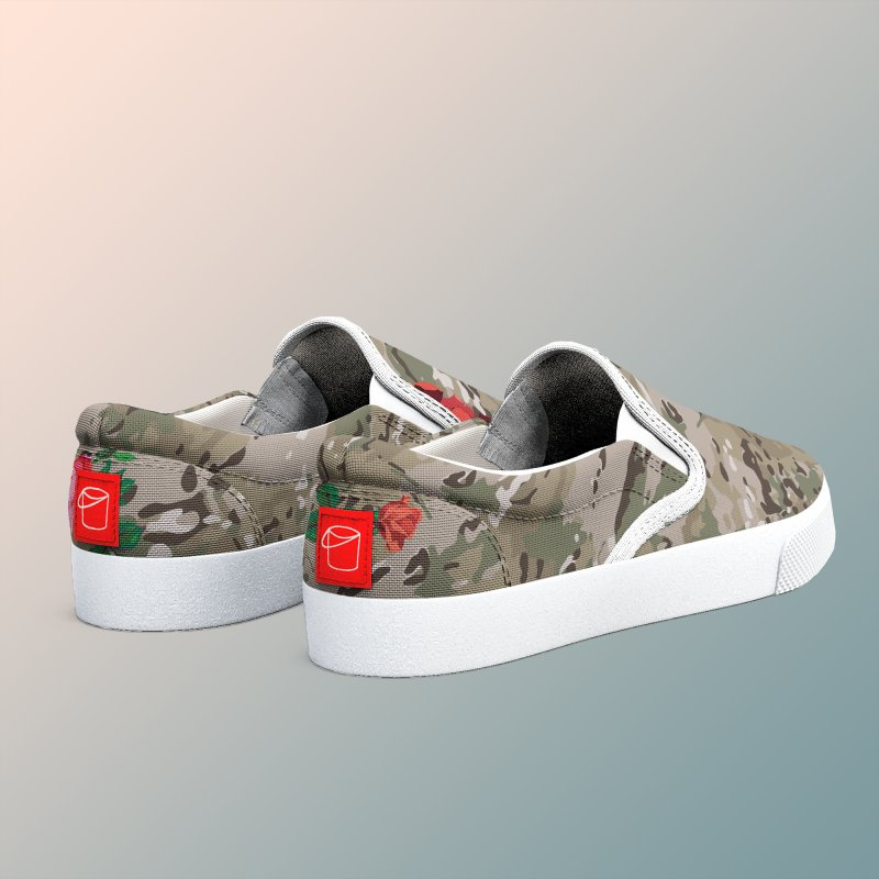 Florals & MultiCAM in Men's Slip-On Shoes by FWMJ's Shop