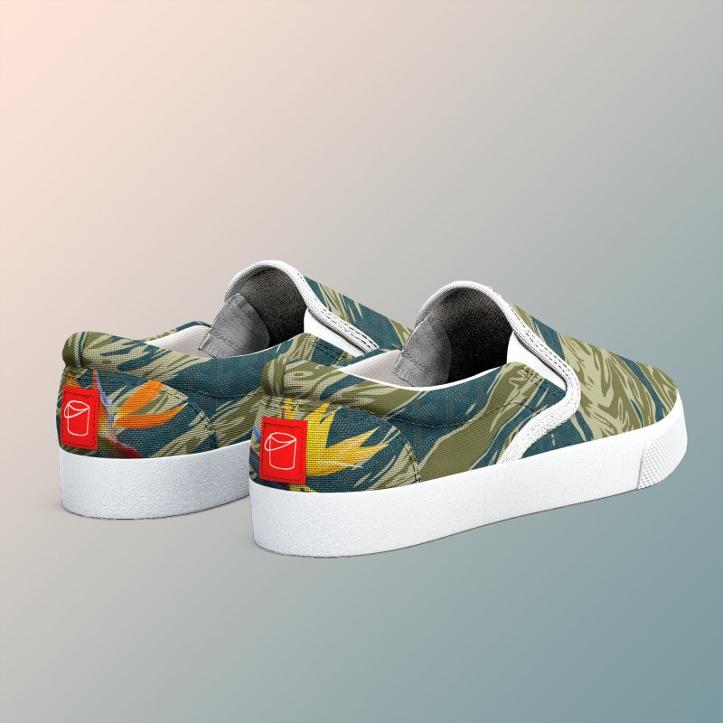 Tigers & Paradise in Men's Slip-On Shoes by FWMJ's Shop