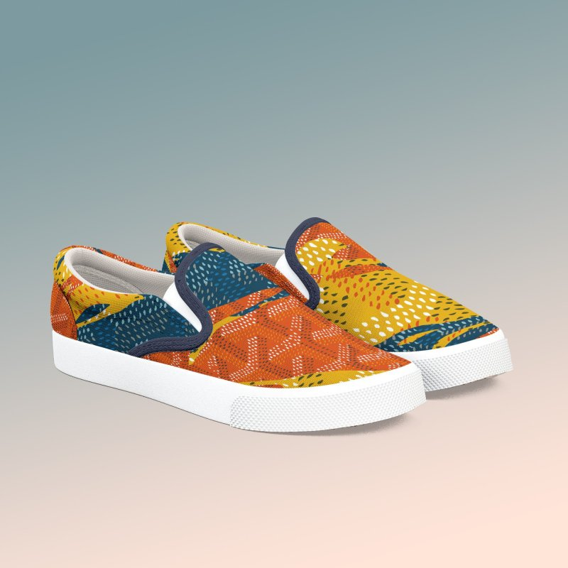 New 'Yard Camo in Women's Slip-On Shoes by FWMJ's Shop