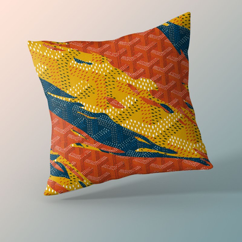 New 'Yard Camo in Throw Pillow by FWMJ's Shop