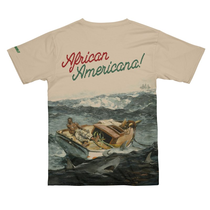 Black Sea in Men's T-Shirt Cut & Sew by FWMJ's Shop