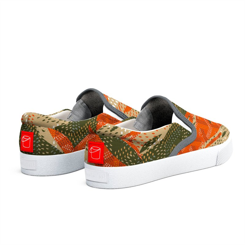 New 'Yard Camo AW19 in Men's Slip-On Shoes by FWMJ's Shop