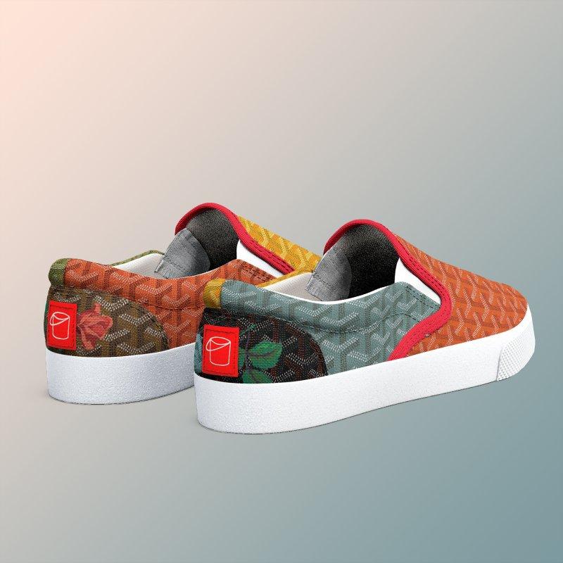 Jardin Goyard (Autumn) in Men's Slip-On Shoes by FWMJ's Shop