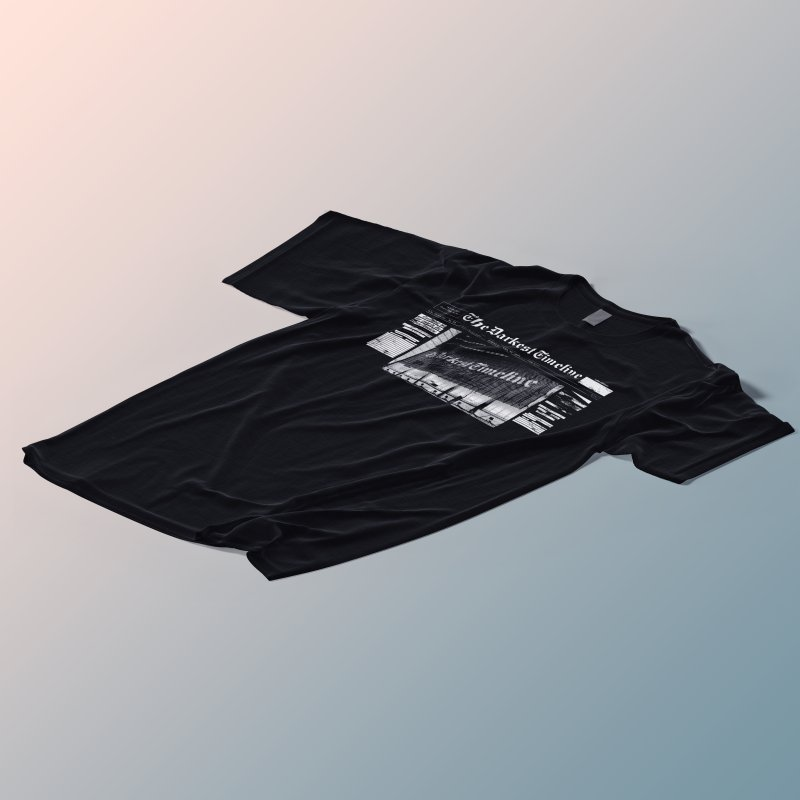 The Darkest Timeline (Above The Fold) in Men's Premium T-Shirt Black by FWMJ's Shop